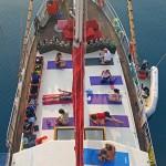 Yoga an Bord